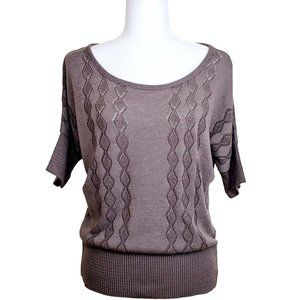 Mossimo Supply Co. Dolman Sleeve Knit Sweater Top